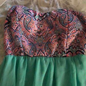 Sleeveless maxi dress!👗💕